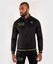VENUM BOXING LAB TRACK JACKET - BLACK/GREEN