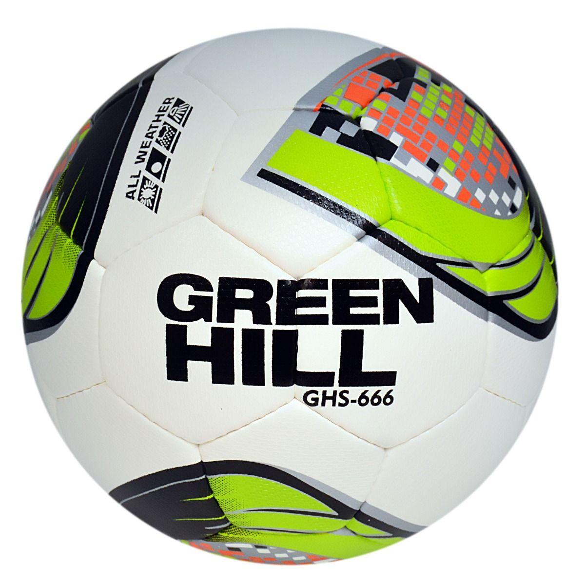GREEN HILL SOCCER BALL 666