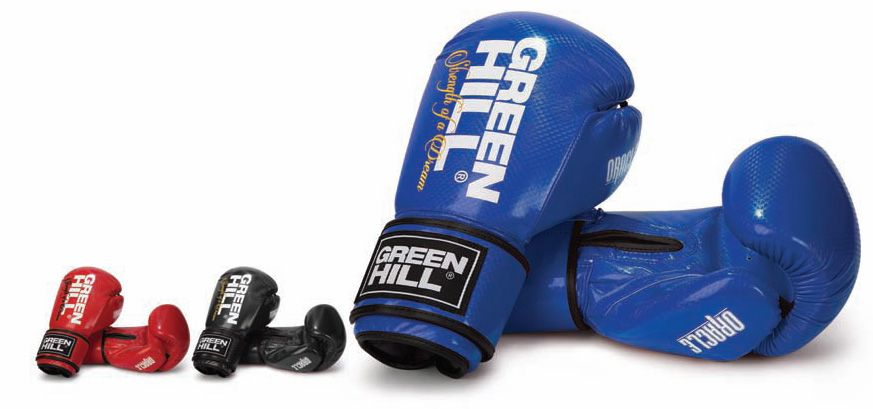 GREEN HILL ORACLE BOXING GLOVES