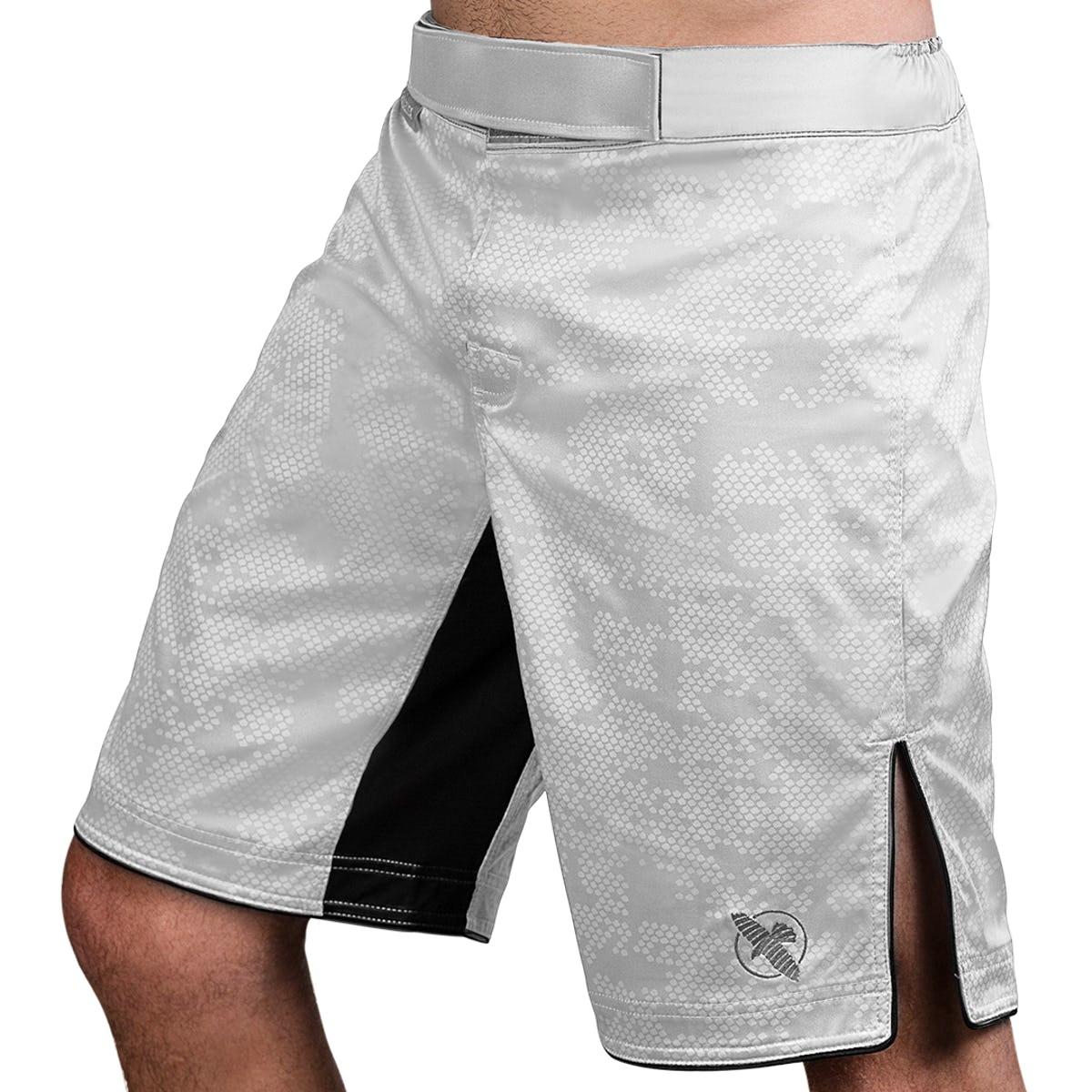 HAYABUSA HEXAGON FIGHT SHORT WHITE M