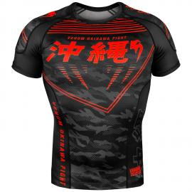 VENUM OKINAWA RASHGUARD 2.0 SHORT SLEEVE BLACK/RED