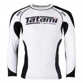 TATAMI TECHNICAL RASH GUARD - WHITE