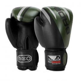 Bad Boy Pro Series Advanced Thai Boxing Gloves BLACK/KHAKI