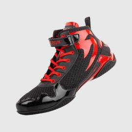 VENUM GIANT LOW BOXING SHOES BLK/RED