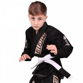 TATAMI NEW MEERKATSU KIDS ANIMAL GI - BLACK