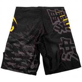 VENUM OKINAWA 2.0 KIDS FIGHTSHORT BLACK/YELLOW