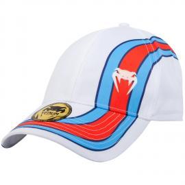 VENUM CUTBACK CAP - WHITE/BLUE/RED