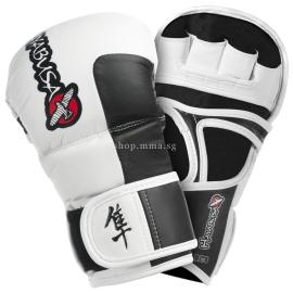 HAYABUSA TOKUSHO HYBRID GLOVES SMOKE WHITE 7OZ