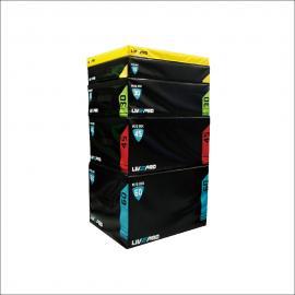LIVEUP LP8151 SOFT PLYO METRIC BOXES