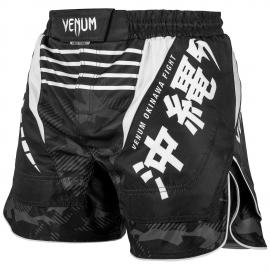 VENUM OKINAWA 2.0 FIGHTSHORT BLACK/WHITE
