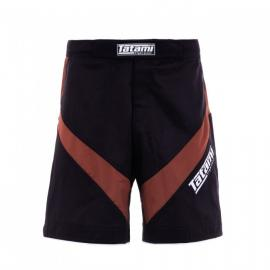 TATAMI IBJJF 2020 RANKED DYNAMIC FIT SHORTS - BROWN