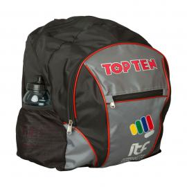 "TOP TEN Backpack ""ITF"" - 42 cm x 30 cm x 15 cm, black-gray"