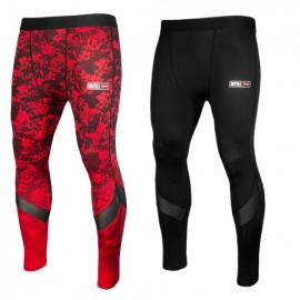 BAD BOY X-TRAIN COMPRESSION TIGHTS RED/BLACK