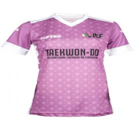 """TOP TEN ITF Shirt """"Star Grid"""" with V-Neck"""