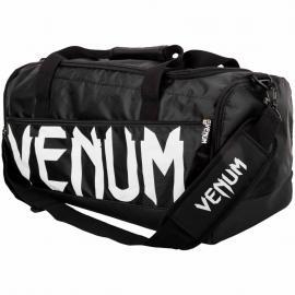 VENUM SPARRING SPORTS BAG BLACK/WHITE