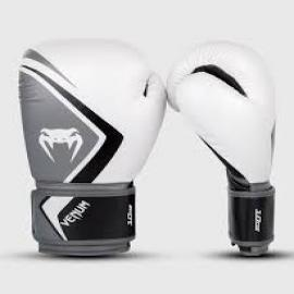 VENUM CONTENDER GLOVES WHITE/GRAY/BLACK