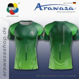 ARAWAZA DRY-TECH SPORTS TEE SHIRT GREEN