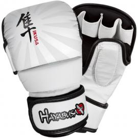 HAYABUSA IKUSA HYBRID GLOVES WHITE 7OZ
