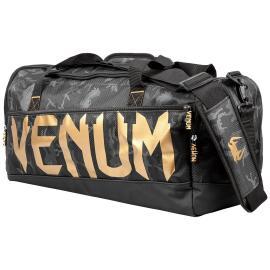 VENUM SPARRING SPORTS BAG DARK CAMO/GOLD