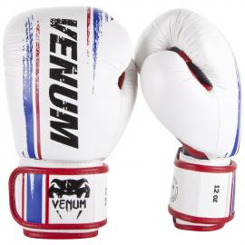 VENUM BANGKOK SPIRIT BOXING GLOVES - NAPPA LEATHER WHT