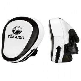 TOKAIDO COACHING MITTS,  CAMBER PRO, BLACK/WHITE