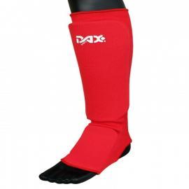 SHIN/FOOT PROTECTOR ELASTIC, RED