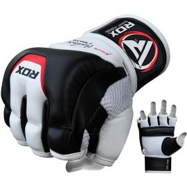 RDX T3 LEATHER MMA GRAPPLING GLOVES