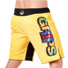 GRIPS MMA SHORTS YELLOW