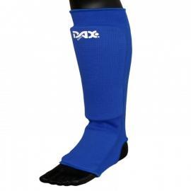 SHIN/FOOT PROTECTOR ELASTIC, BLUE
