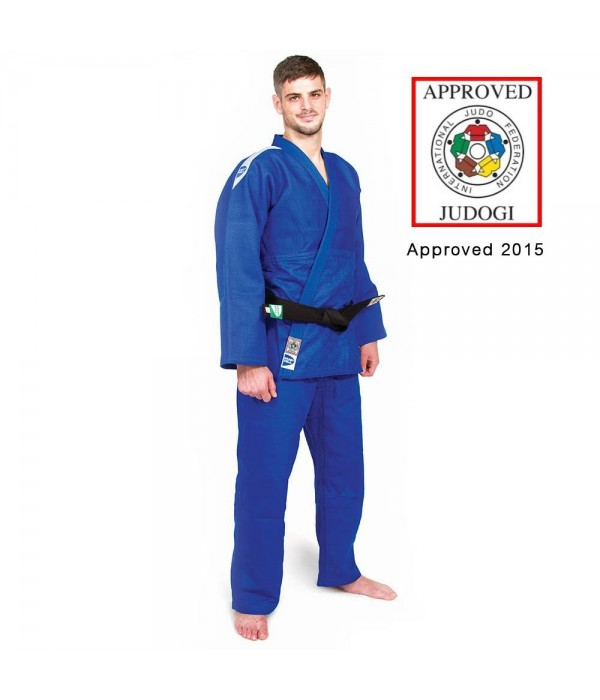GREEN HILL JUDO SUIT PROFESSIONAL, BLUE